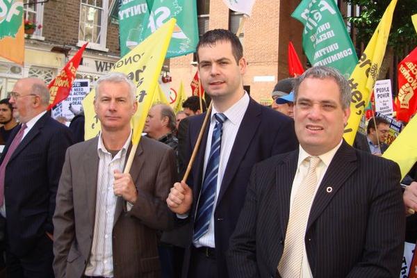 Seán Crowe, Pearse Doherty & Aengus O'Snodaigh