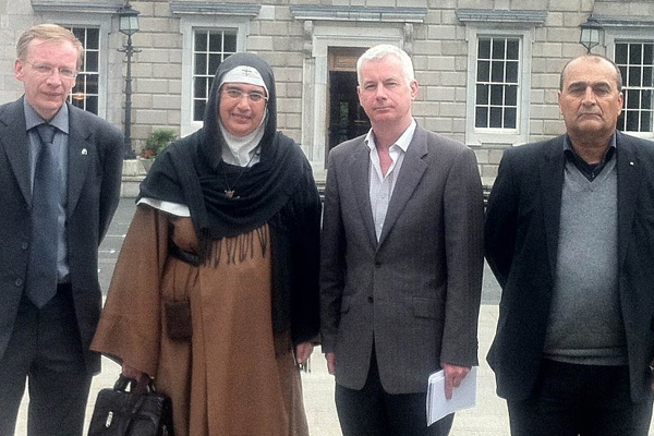 Meeting with Mother Agnes Mariam of the Cross